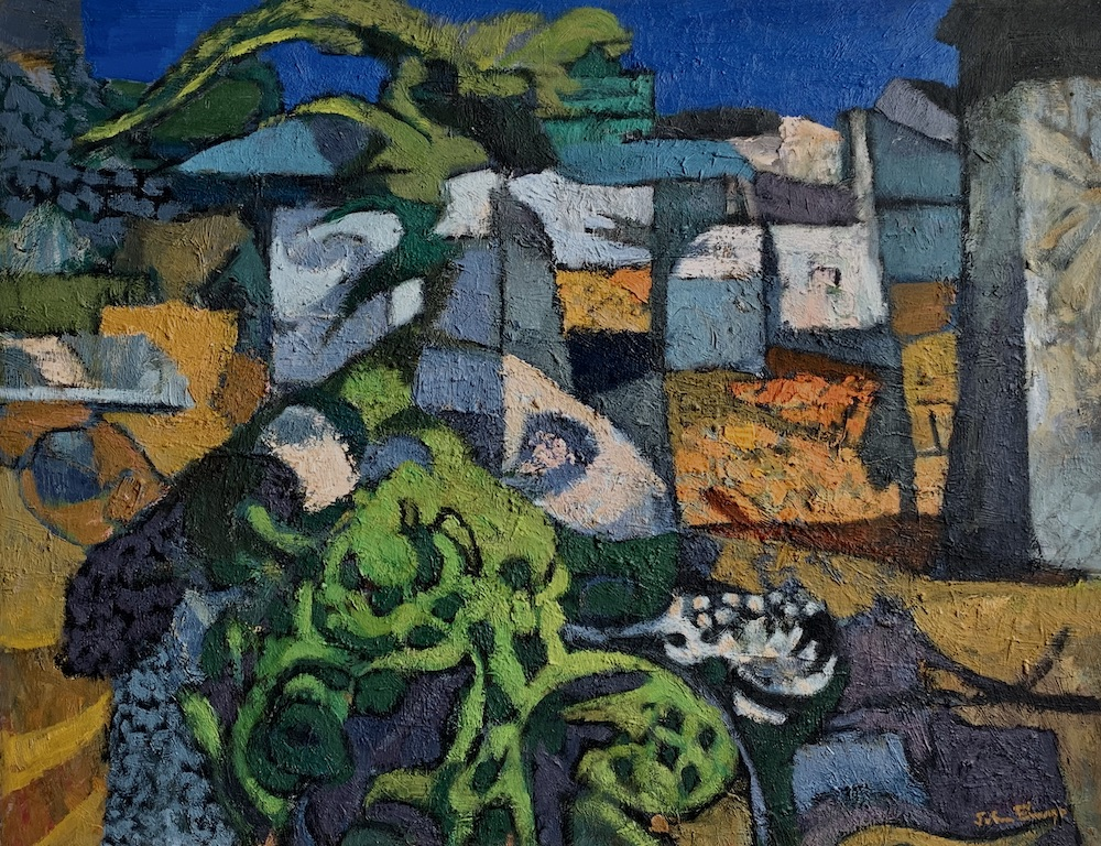 Farmyard Patterns (oil, 1995) copy