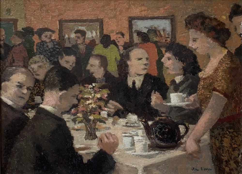 JE Social Tea Party 1949