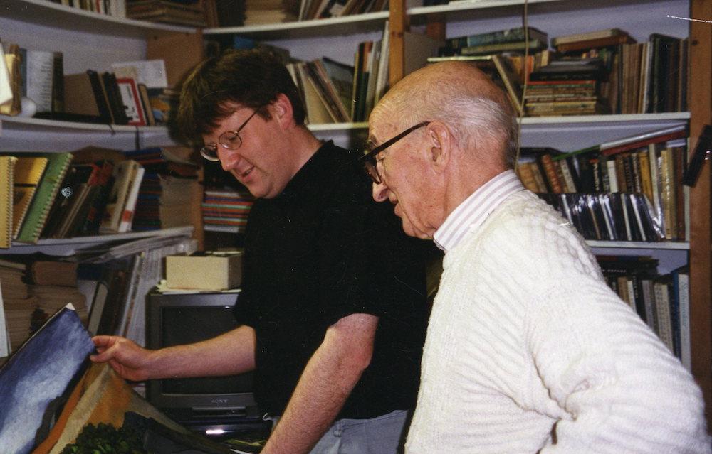 John Elwyn and Robert Meyrick Winchester Dec 1994 copy