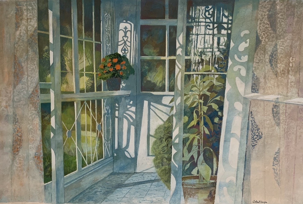 The Enclosed Balcony 1985