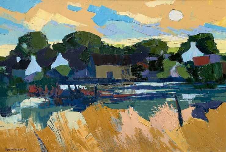 Gwilym Prichard Mill Pond Lesconil