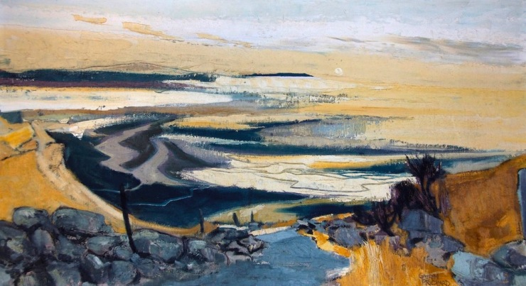Prichard: Red Wharf Bay 52 x 92 1970