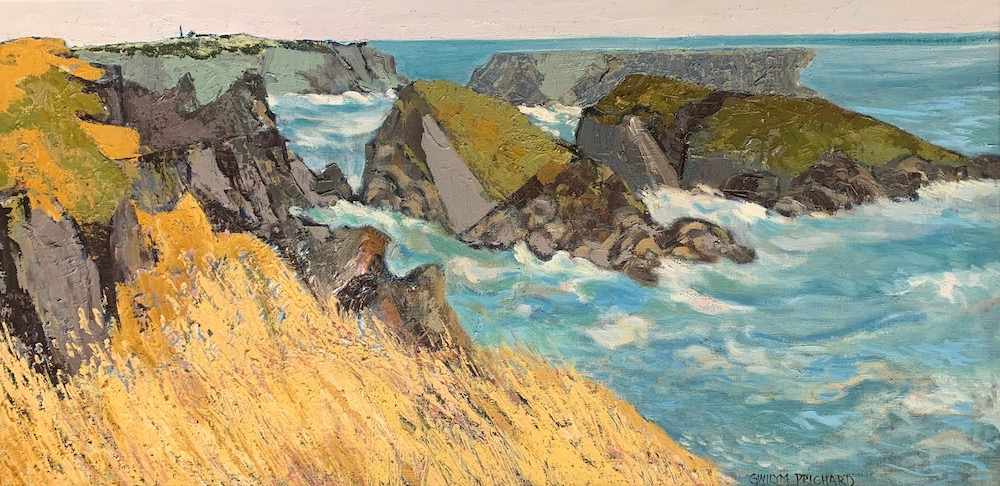 Gwilym Prichard Rough Seas Belle Ile