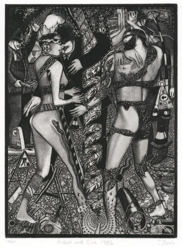 Penn - Adam and Eve 1986 Web