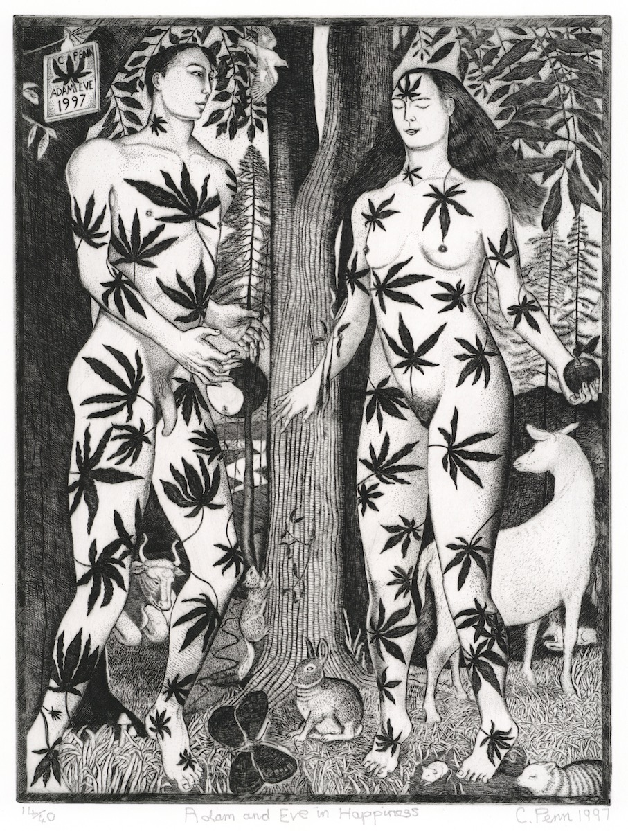 Penn - Adam and Eve in Happiness Web