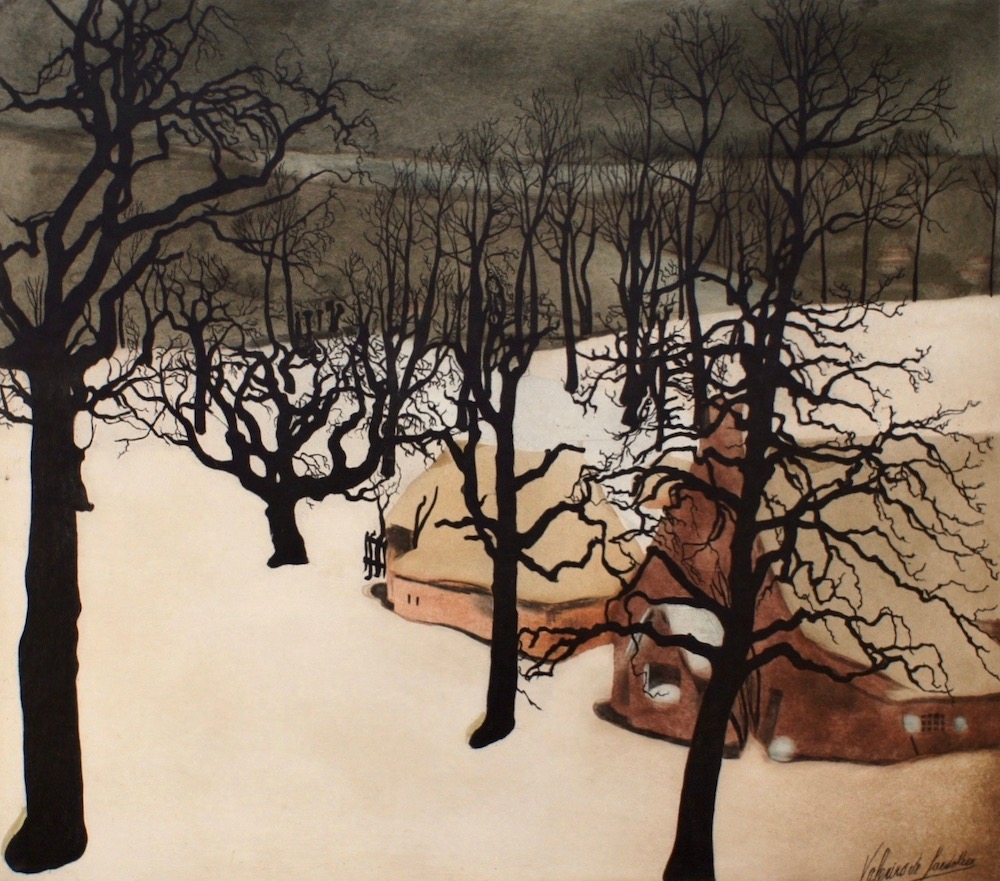 Saedeleer - An Old Orchard in Winter