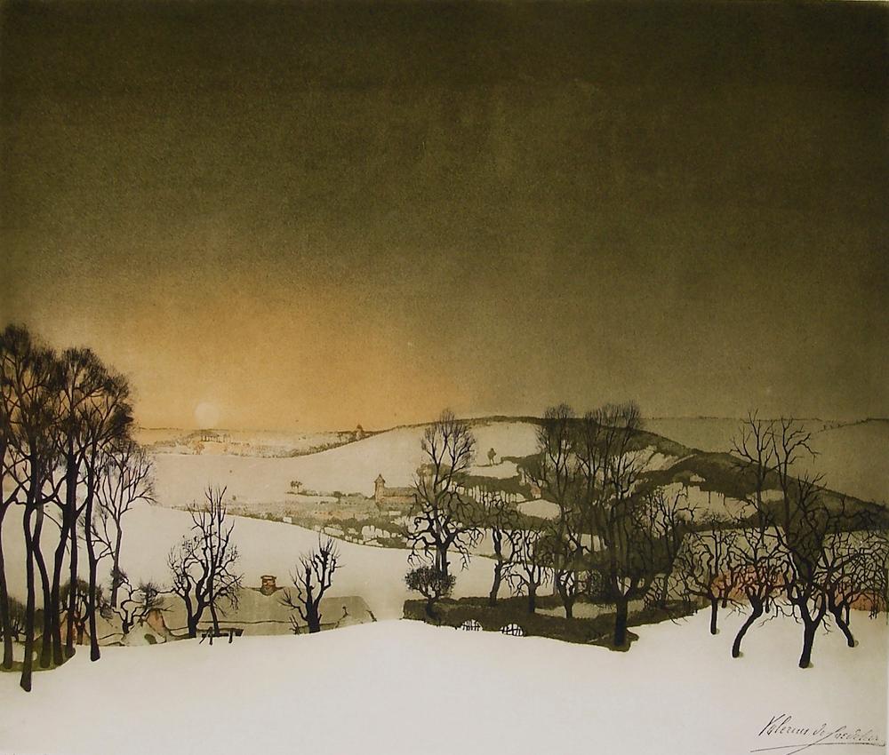 Saedeleer - Village under Snow 2