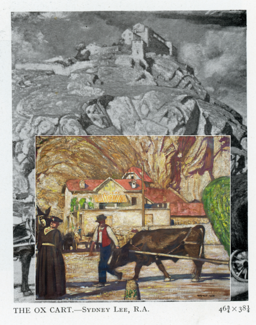 Sydney Lee - The Ox Cart